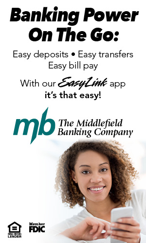 Mobile Banking from Middlefield Banking Company